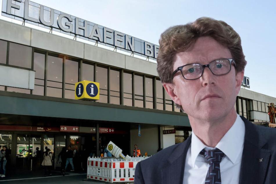 Flughafen-Chef Engelbert Lütke Daldrup (61) steckt 50 Millionen Euro in den Airport Berlin-Schönefeld.