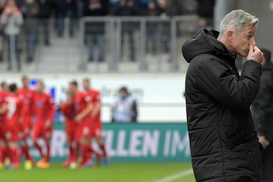Nach der Niederlage in Heidenheim wurde Jens Keller bei Union Berlin beurlaubt.