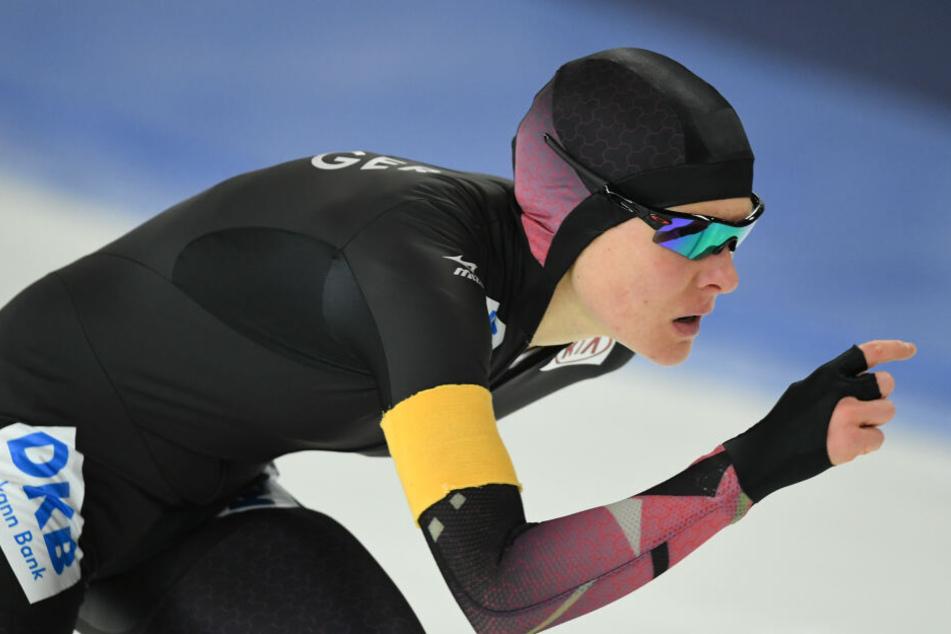 2010 holte Stephanie Beckert in der Verfolgung Gold für Deutschland.
