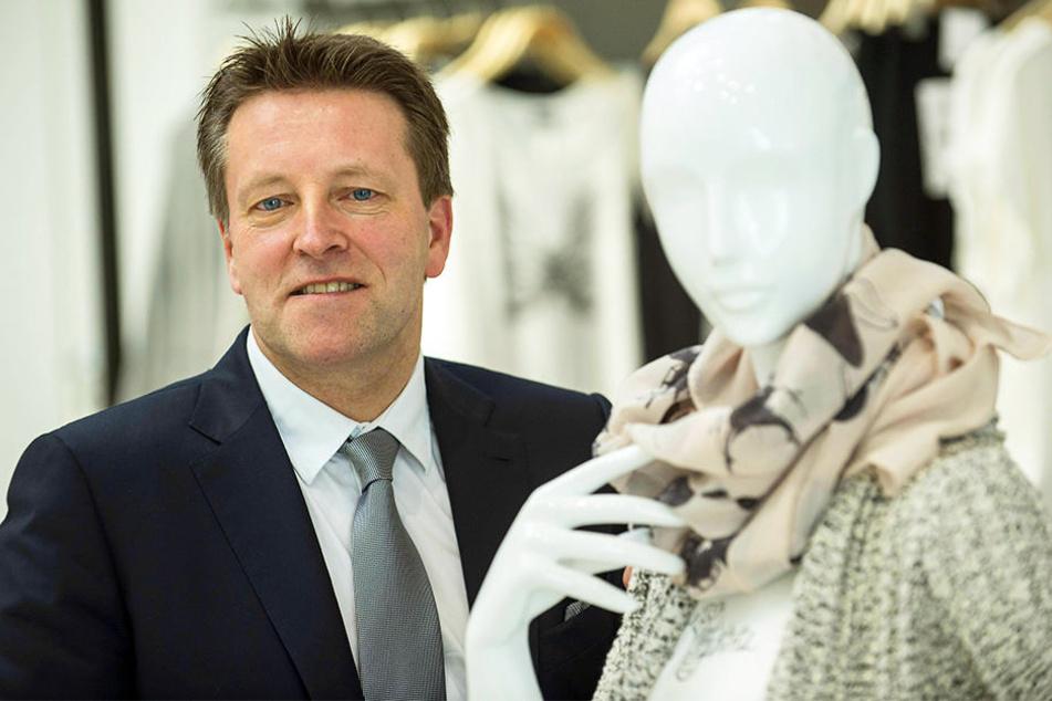 Ralf Weber, Vorstandsvorsitzender der Gerry Weber International AG, will sich in Zukunft auf das Kerngeschäft konzentrieren.