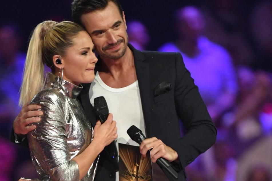 Nach der Trennung traten Helene Fischer und Florian Silbereisen gemeinsam bei den Schlager Champions auf.