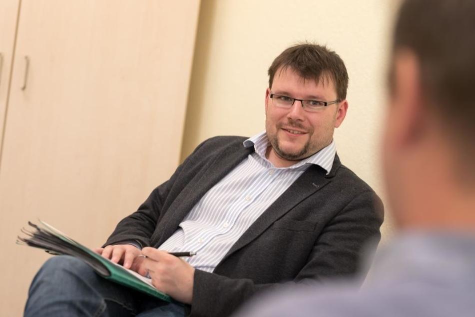 """Diplom-Psychologe und Vize-Chef der """"Suchtfachklinik Magdalenenstift"""": Stefan Melzer (34)"""