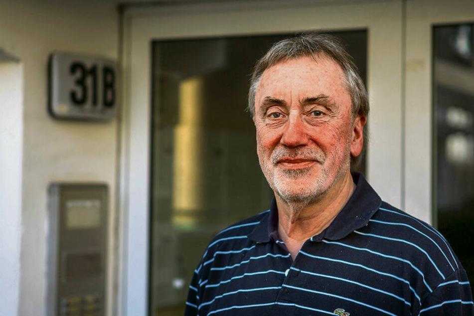 Anwohner Wolfgang Denecke (67).