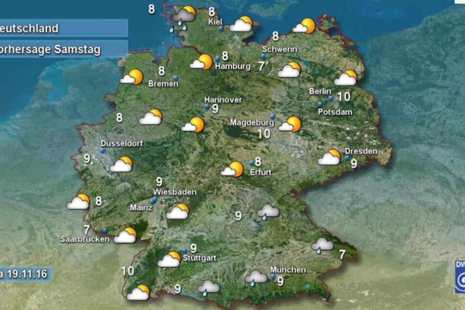 Bevor es kalt wird, können wir uns noch über milde Temperaturen am Wochenende erfreuen.