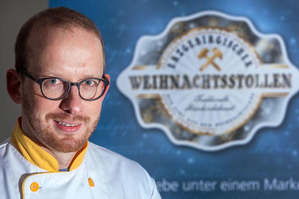 Tobias Nönning (34) ist neuer Präsident des erzgebirgischen  Stollenverbands.