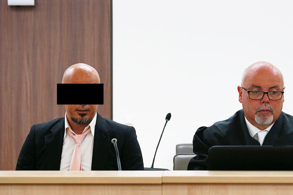 M. behauptete vor Gericht nicht die Absicht gehabt zu haben, jemanden umzubringen.