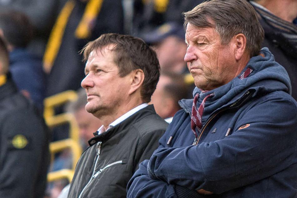 Torsten Gütschow wird auch am Sonnabend im Stadion sein, um Dynamo gegen Bielefeld die Daumen zu drücken
