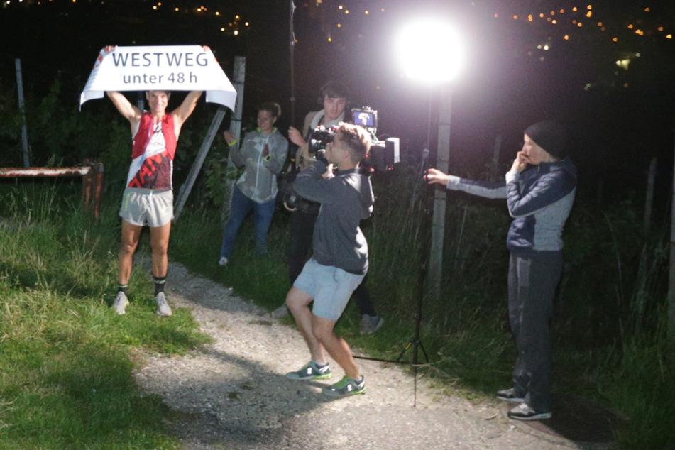 Triathlet Scheiderbauer läuft 285 Kilometer in weniger als 48 Stunden