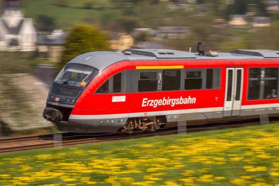 Auf der Strecke nach Cranzahl gibt es teilweise Schienenersatzverkehr. (Archivbild)