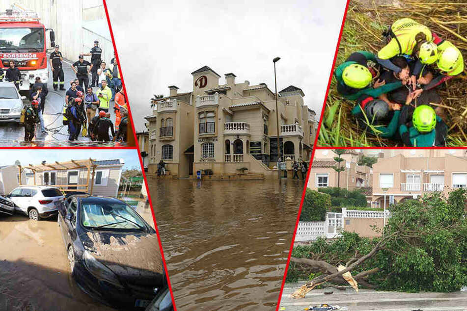 Unwetter in Spanien fordern mehrere Tote