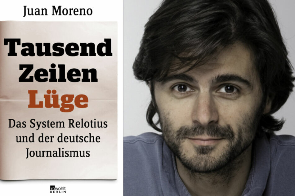 """Der Autor Juan Moreno hat """"Tausend Zeilen Lüge"""" verfasst."""