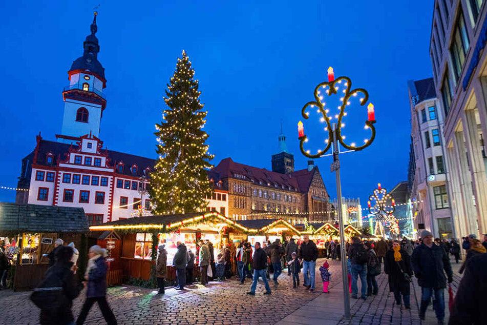 Sollte der Chemnitzer Weihnachtsmarkt abends länger geöffnet haben?