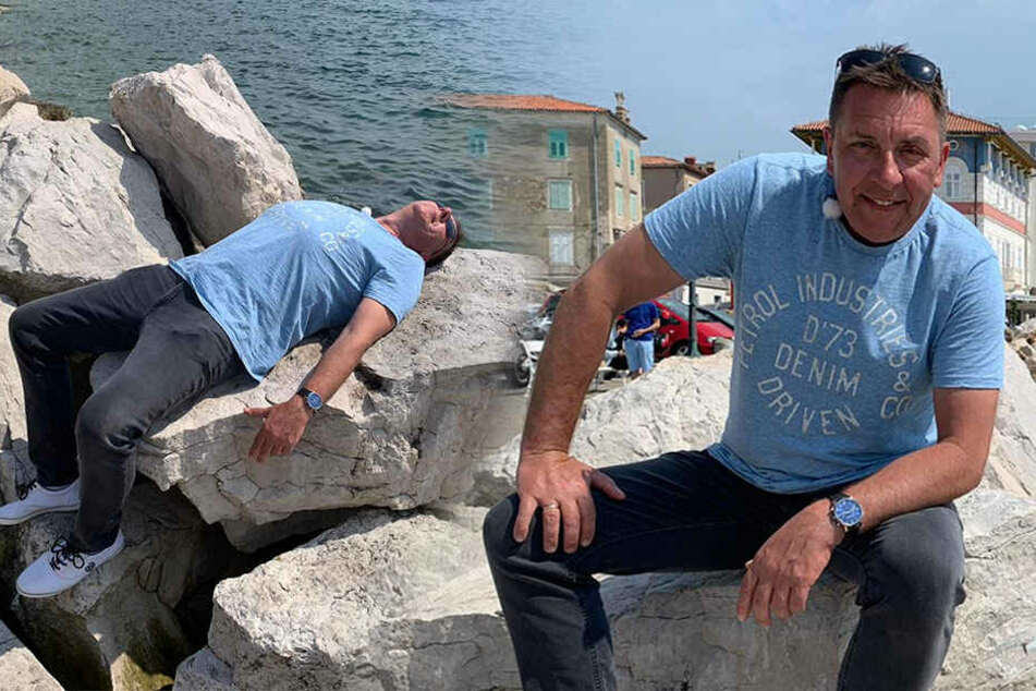 Als Ferientester an der Adria! Böttcher hat keinen Sand im Schlübber