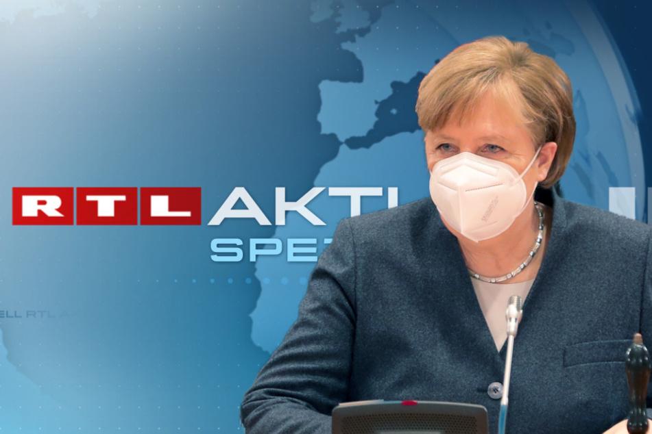 RTL ändert sein Abendprogramm kurzfristig: Angela Merkel ist der Grund
