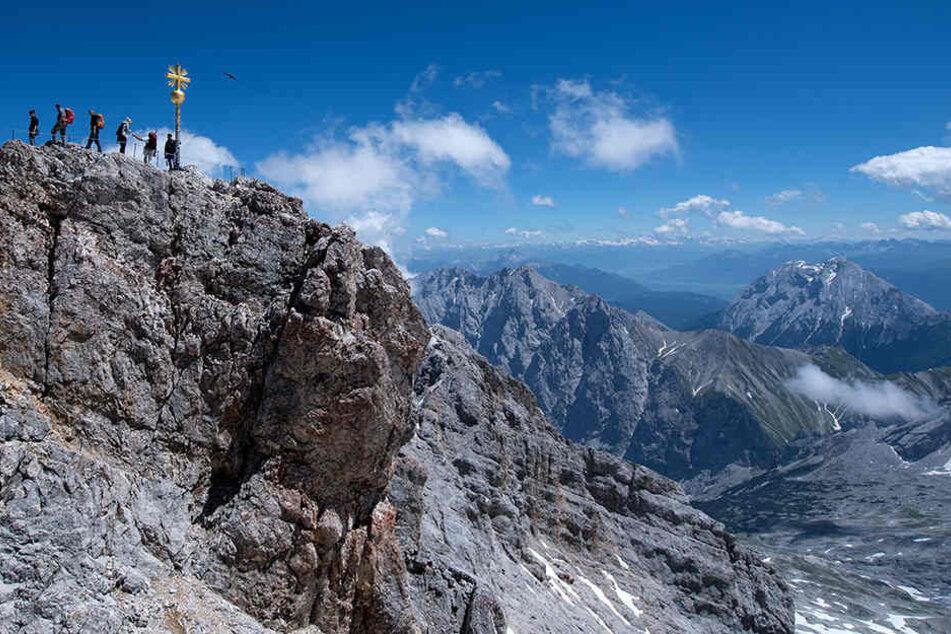 Der Wanderer war auf dem Weg zum Gipfel. Seit Mittwochmorgen wurde er vermisst.