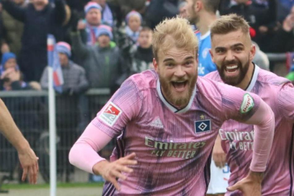 Mit seinem Last-Minute-Ausgleichstreffer wurde Timo Letschert in Kiel zum Helden.