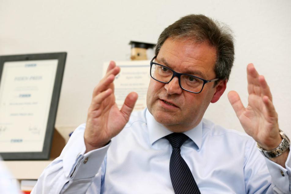 Darf man mit der AfD koalieren? Der sächsische Europaabgeordnete Hermann  Winkler (53, CDU) sorgt für heftige Debatten.