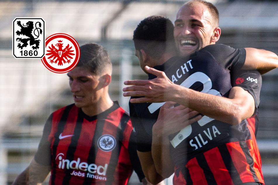 Mit Anlaufschwierigkeiten: Eintracht ringt bissige Löwen in erster DFB-Pokal-Runde nieder