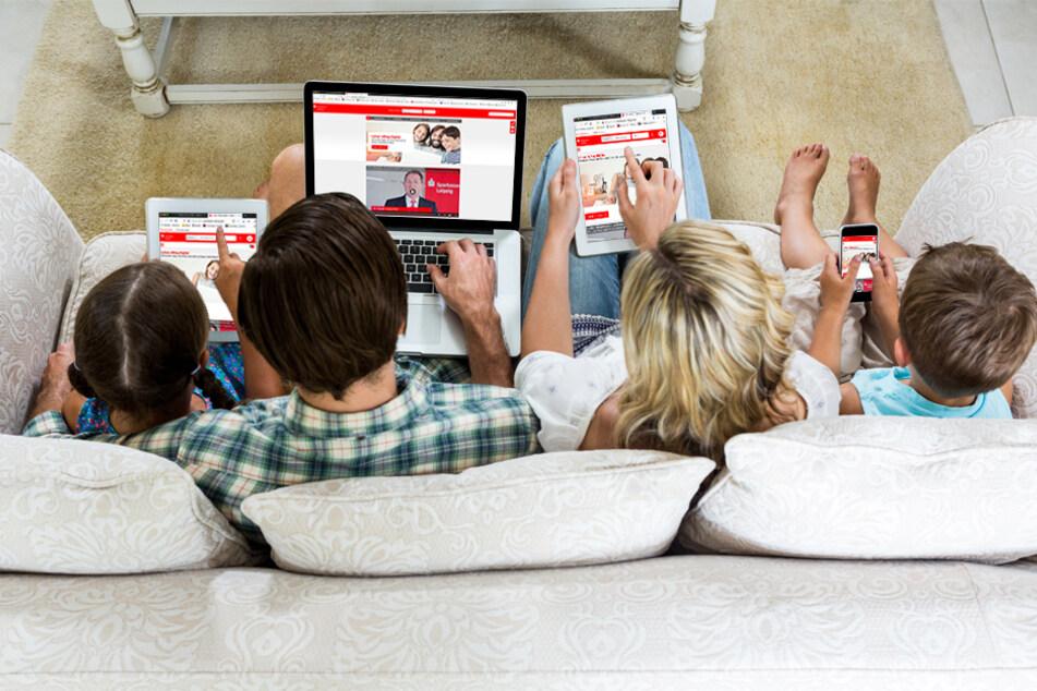 Die Sparkasse Leipzig gibt Tipps für Euren digitalen Alltag