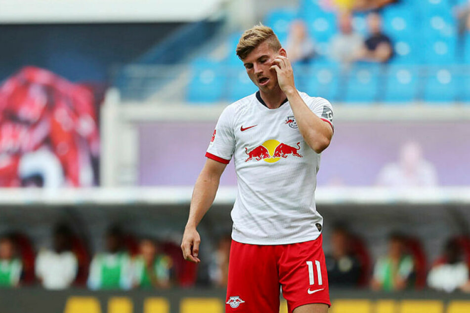 Blieb in der Red Bull Arena glücklos: Timo Werner.