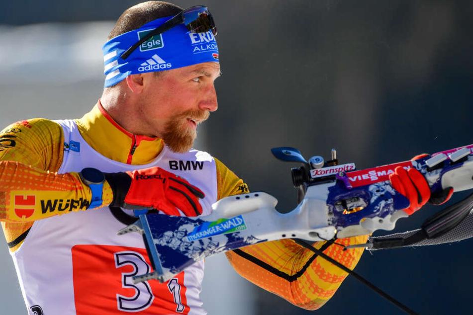 """Biathlon-Star Erik Lesser beendet Saison vorzeitig: """"Zuhause hat sich etwas geändert"""""""