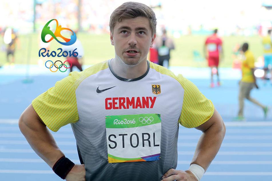Debakel für Storl: Weltmeister verpatzt Olympia