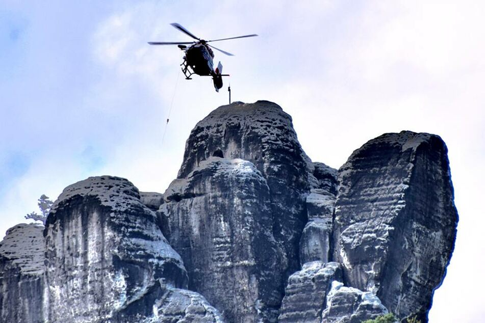 Mann stirbt beim Klettern in der Sächsischen Schweiz