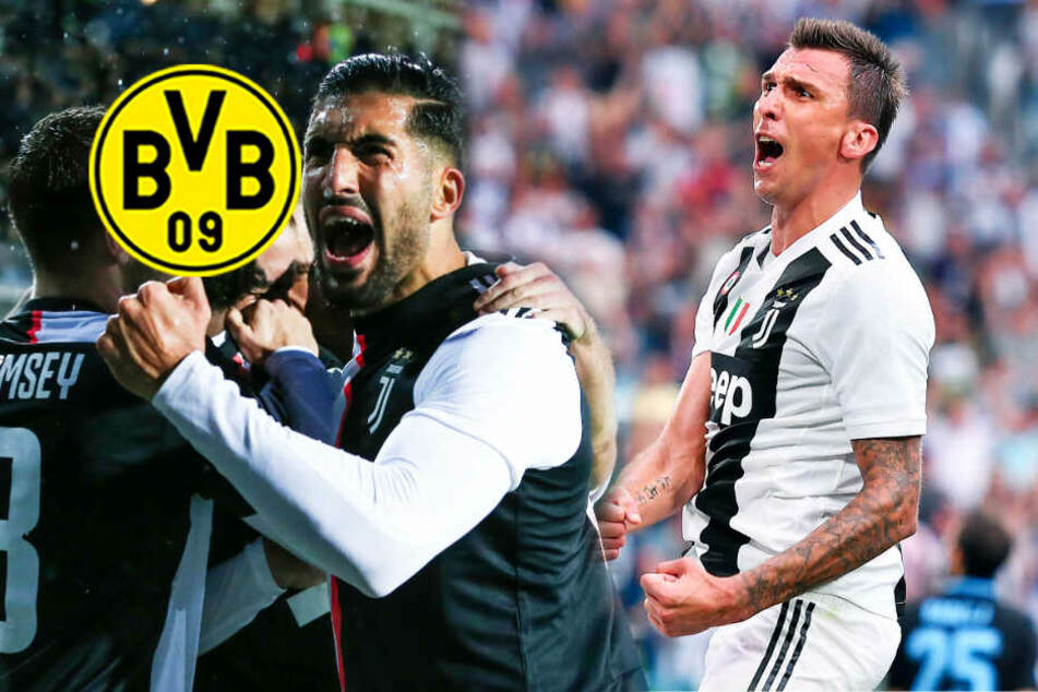 BVB vor Transfercoup? Dortmund gleich an zwei Juve-Stars dran!