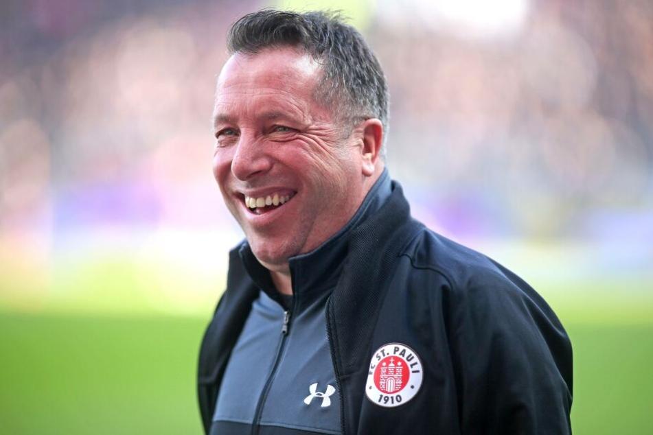 Markus Kauczinski betreute zuletzt den FC St. Pauli.