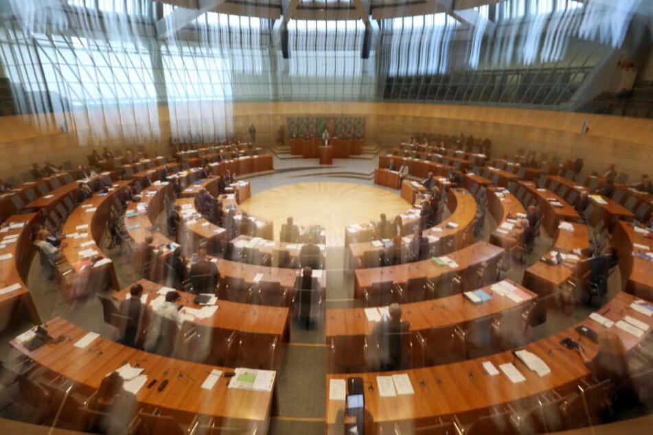 Bei schweren Verstößen droht Abgeordneten der Verweis aus dem Landtag (Archivbild).