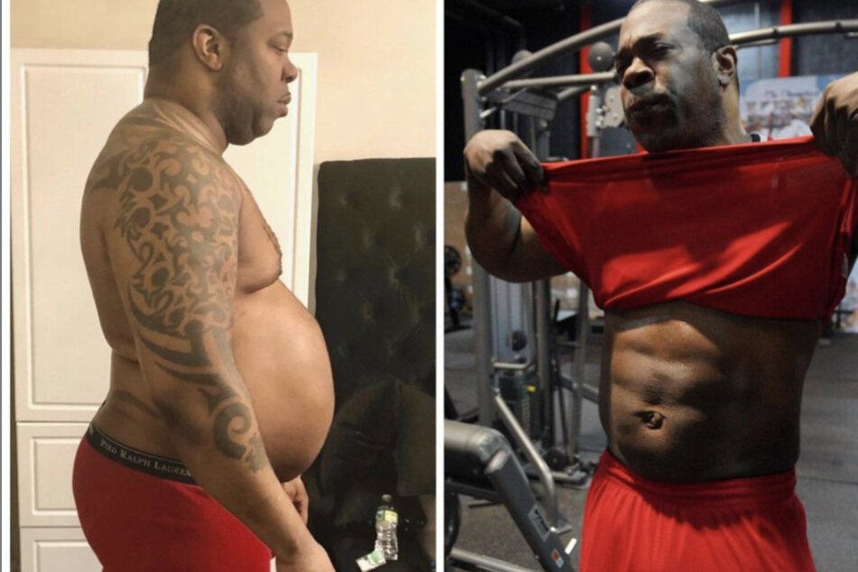At his heaviest, Busta Rhymes weighed in at 340 lbs.
