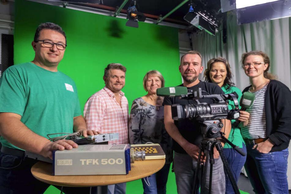 """MTV des Ostens"": Ältester Lokalsender Sachsens ist 33 Jahre alt"