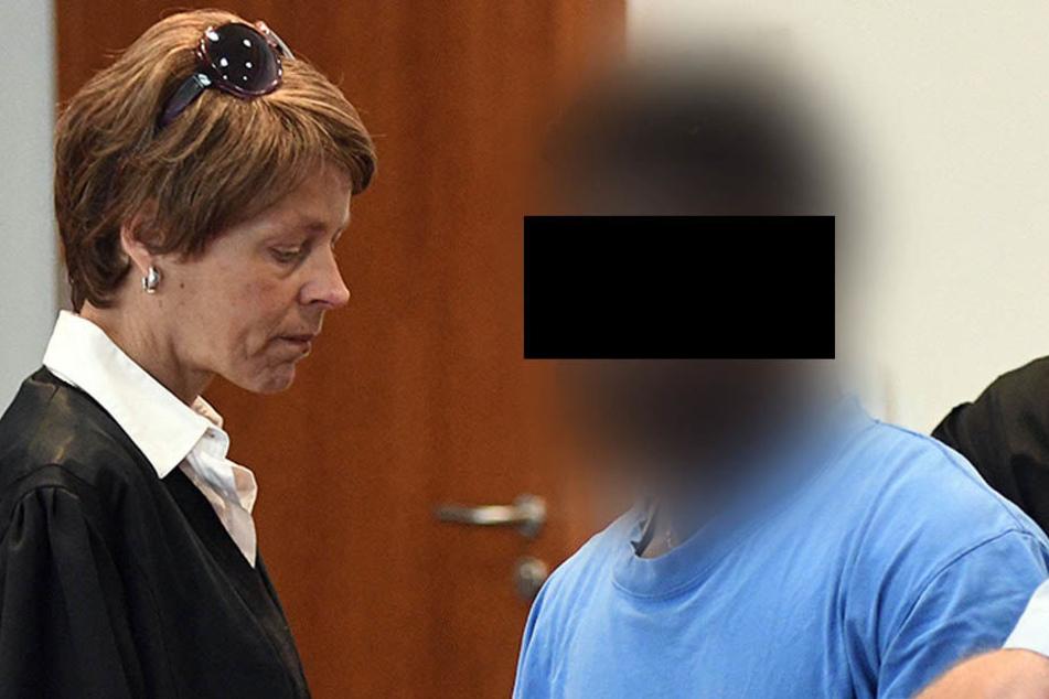 Eric X. vergewaltigte sein Opfer ungeschützt. Eine DNA-Spur führte direkt zu ihm. Trotzdem will er von der Tat nichts wissen.