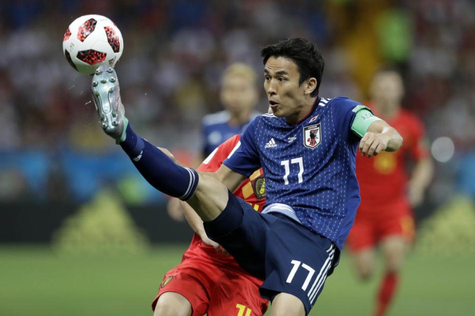 Makoto Hasebe führte die Nationalmannschaft Japans als Kapitän bis ins Achtelfinale der Weltmeisterschaft in Russland.