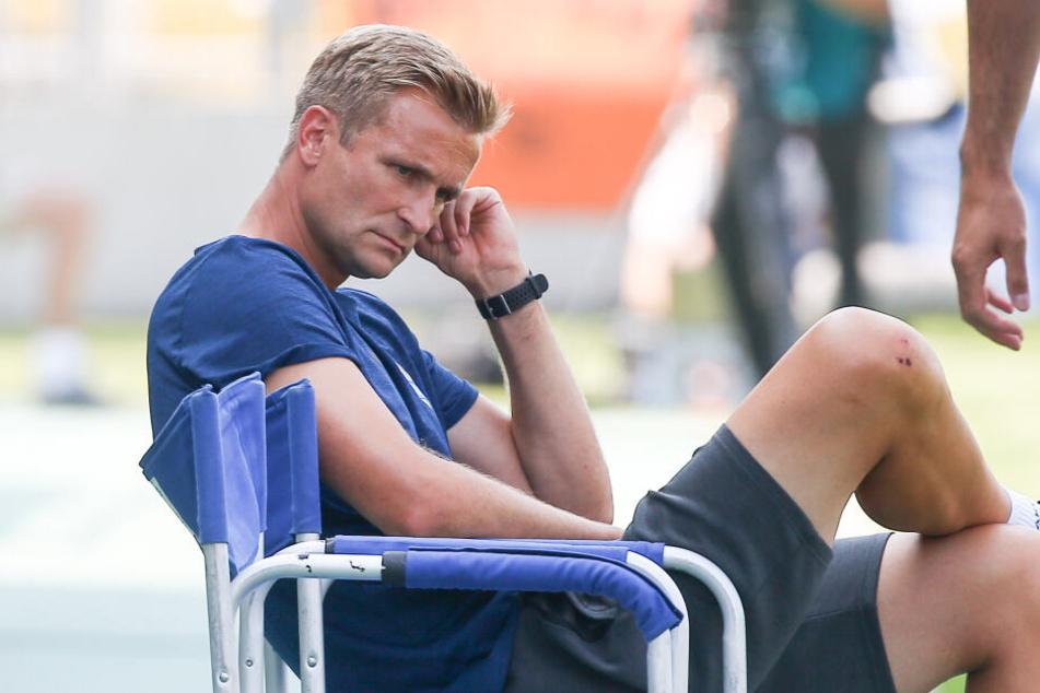 Nachdenklich: Cheftrainer David Bergner will nicht mehr.