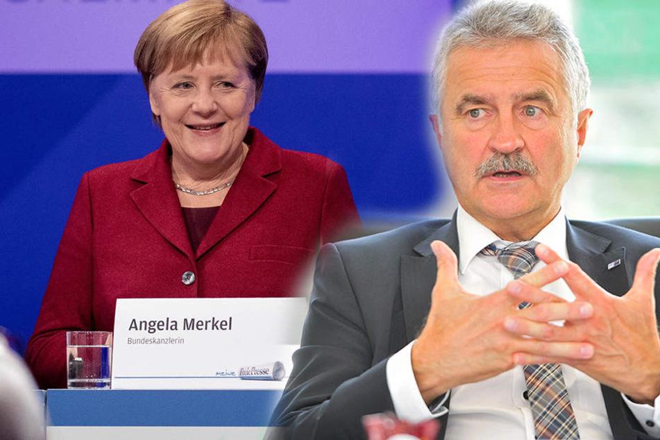 """Reaktionen zum Merkel-Besuch: """"Die Zeit für Betroffenheits-Besuche ist vorbei"""""""