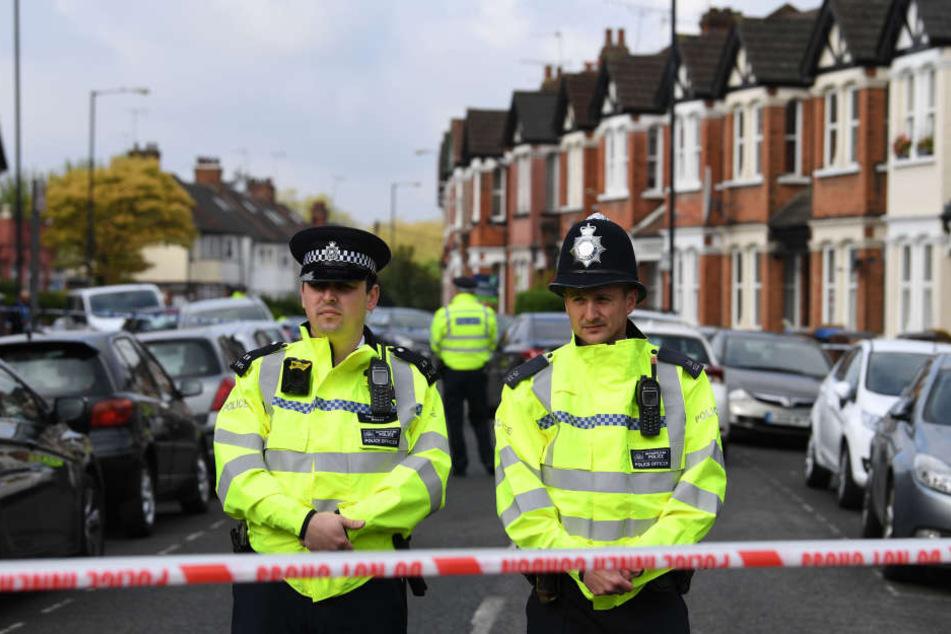 Die britische Polizei konnte den Mann festnehmen. (Archivbild)