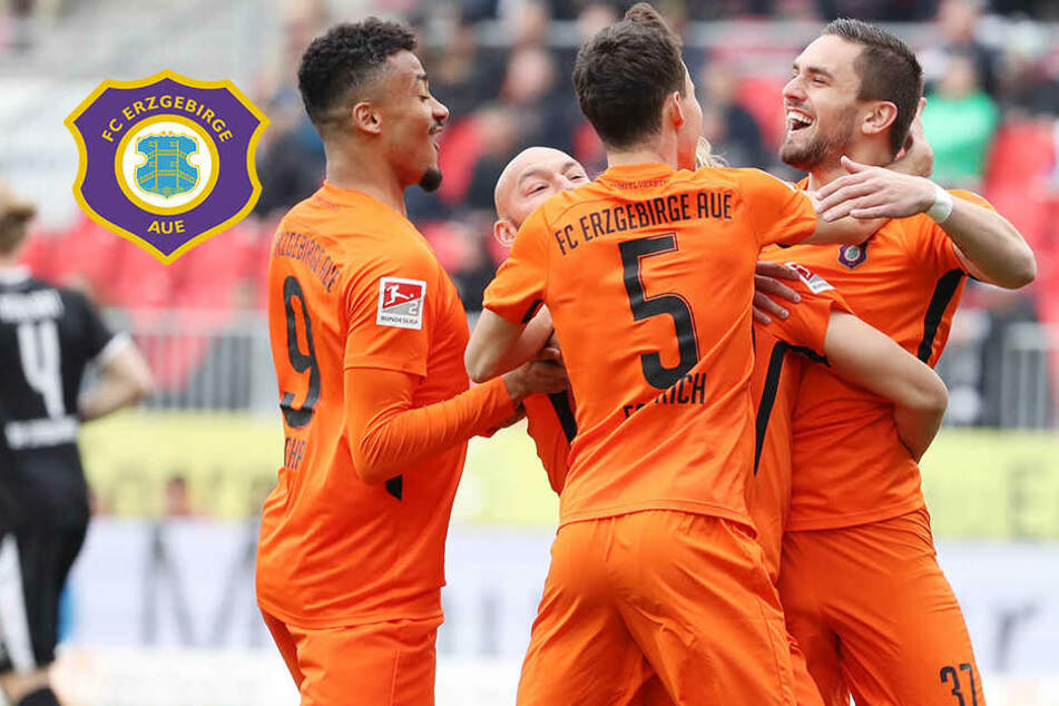 Aue on fire! Doppelpack von Testroet bei 3:0-Sieg in Sandhausen