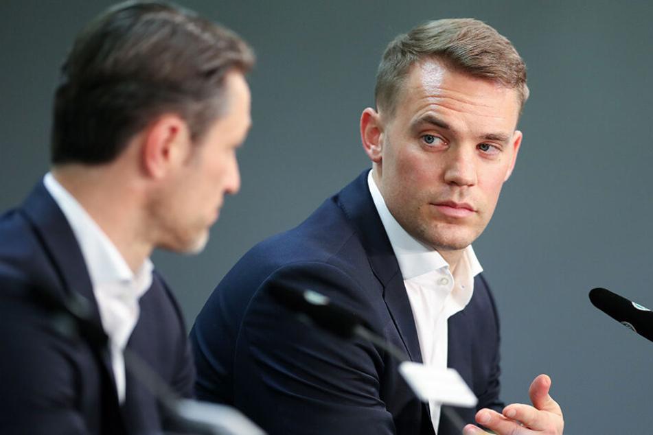Auf die Rückendeckung seines Trainers Niko Kovac kann sich Manuel Neuer auch verlassen.