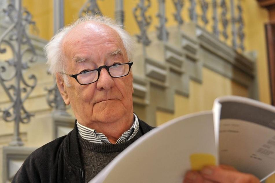 Kulti-Architekt Wolfgang Hänsch (†84) versuchte die Zerstörung seines Saals  vor Gericht zu stoppen.