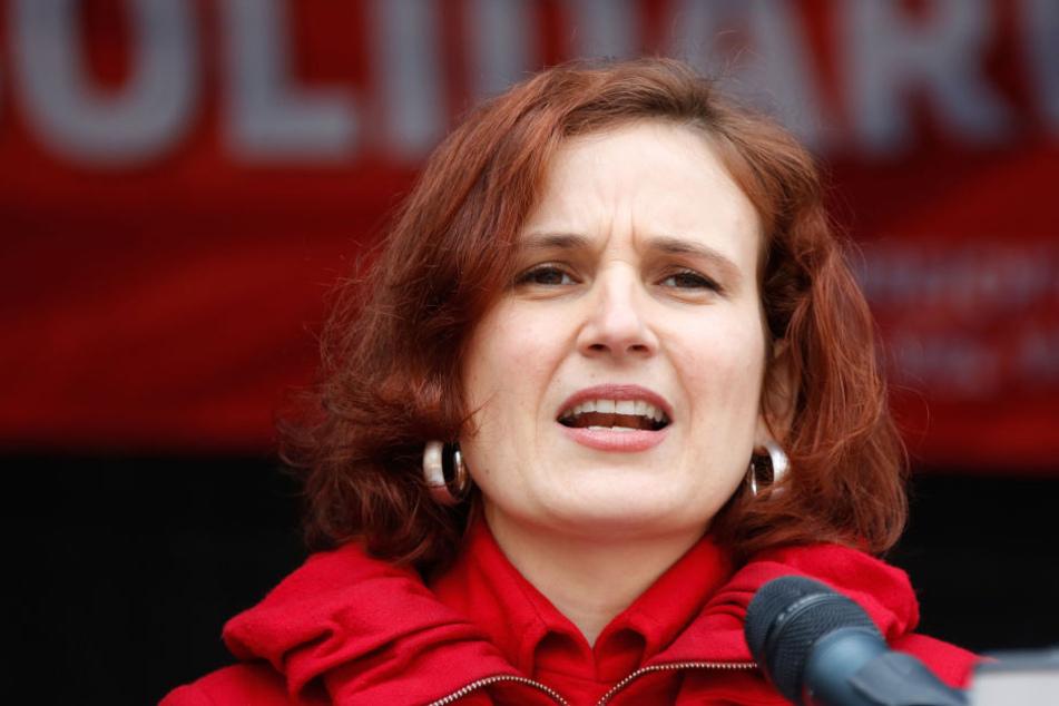 """Katja Kipping (39): """"Am Badestrand im Ausnahmezustand - wer kann sich da schon entspannen?"""""""