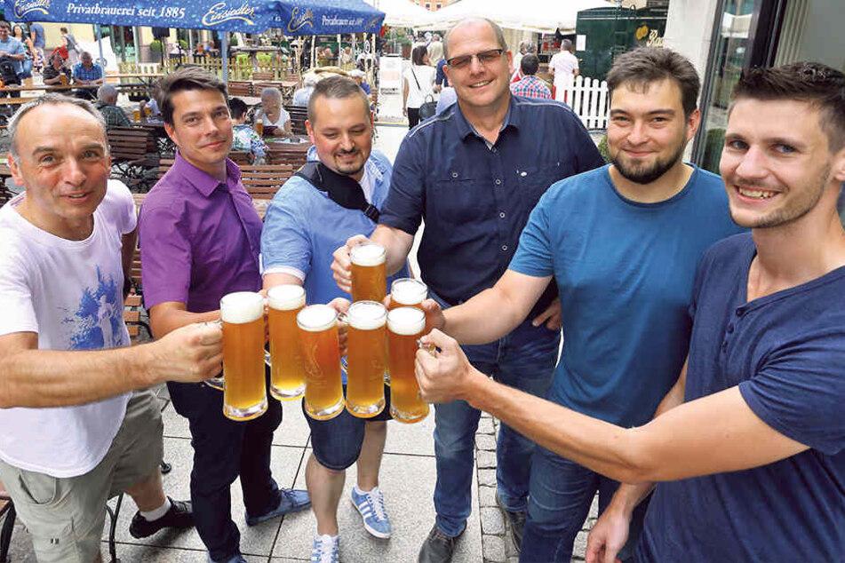 Ein Wochenende im Zeichen des Bieres: Der Brauereimarkt soll die Innere Klosterstraße in eine Partymeile verwandeln.