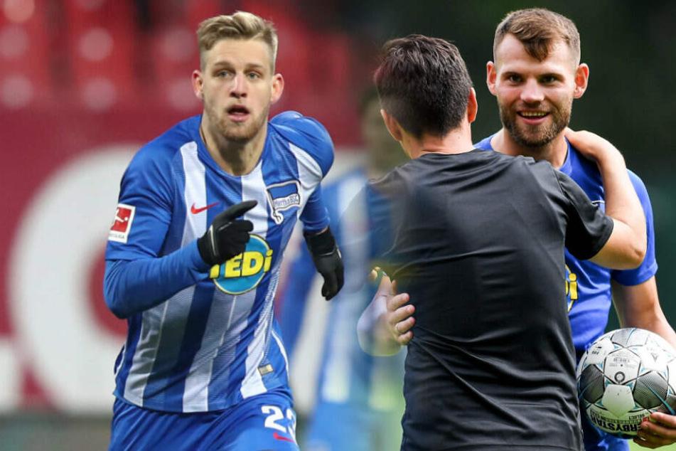 Arne Maier (l.) und Eduard Löwen (r.) fallen weiter aus.