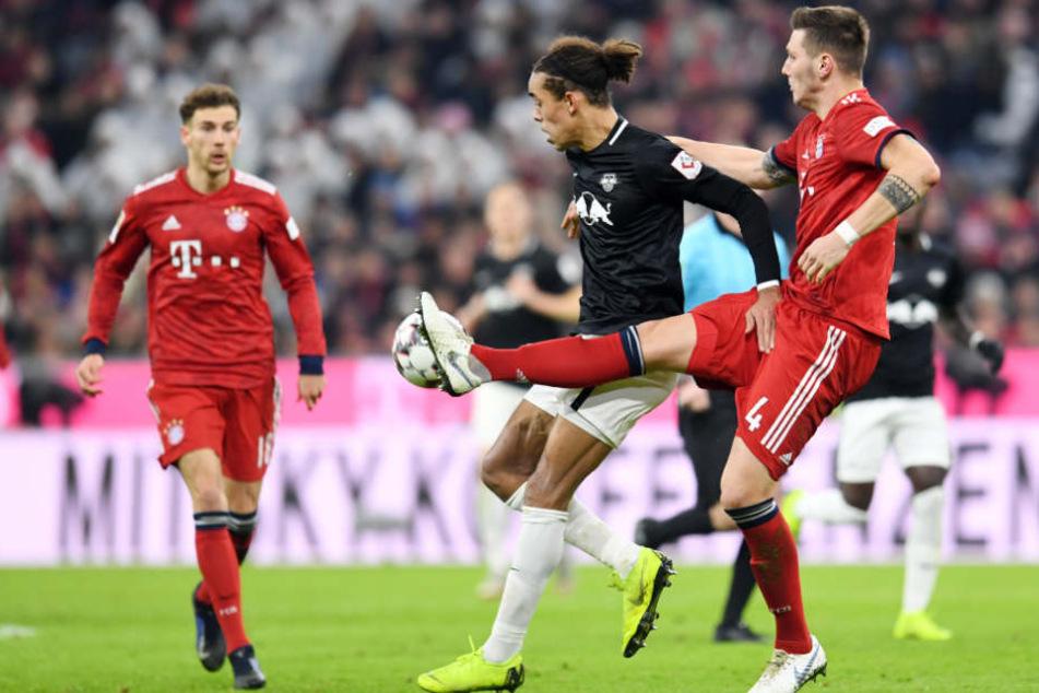 Leipzig hielt beim Gastspiel in der Münchner Allianz Arena mit allen Mitteln dagegen.