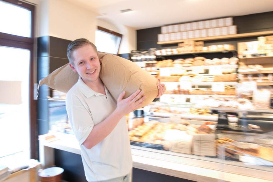 """Erik Spiegelhauer (27) will """"Brot wie früher"""" backen. Dafür sucht er die alte Roggensorte """"Pirna""""."""