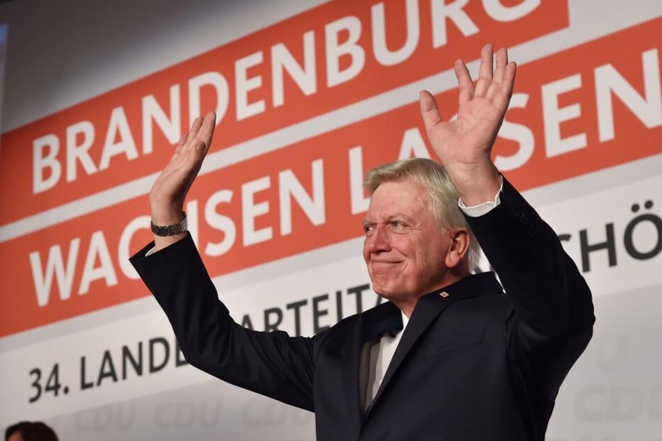 Ließ sich auf dem Landesparteitag feiern: Volker Bouffier.