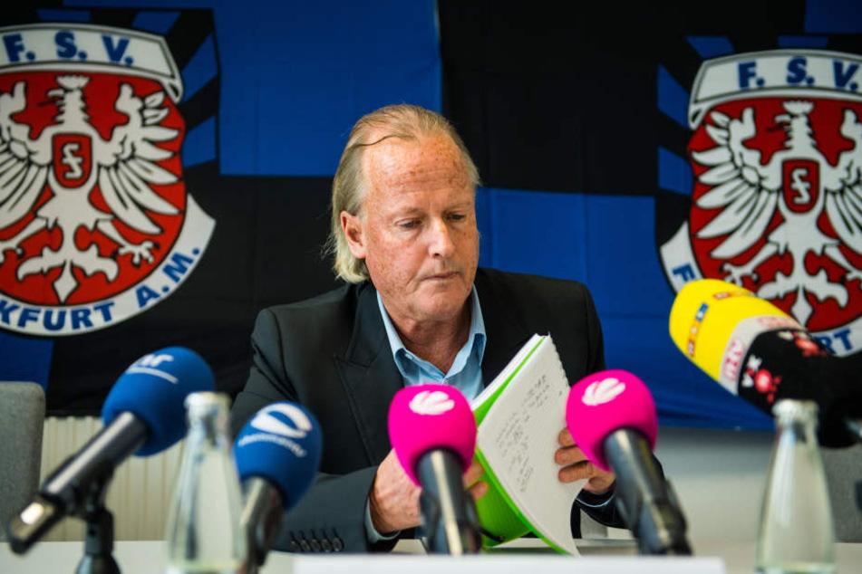 FSV-Präsident Michael Görner kann seine Jungs ab sofort auch live im Internet verfolgen.