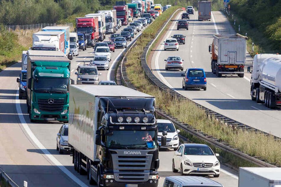 Autofahrer sollten wegen der Baustelle bei Zwickau etwas mehr Zeit einplanen.