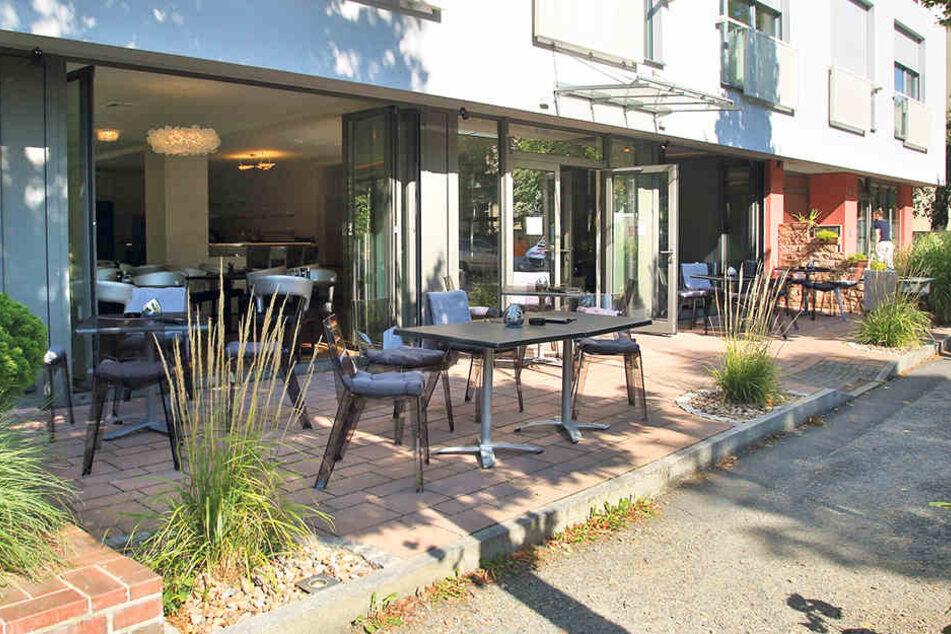 Auch die Terrasse an der Wittenberger Straße können Gäste künftig nutzen.