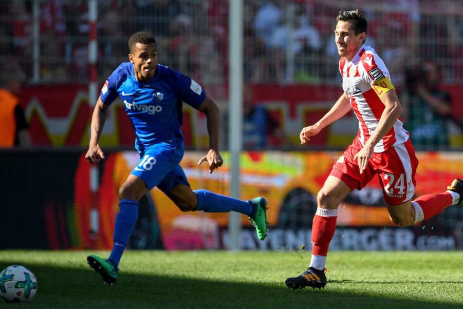 Unions Toptorschütze Skrzybski wird gegen Dynamo Dresden fehlen.